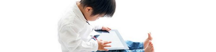 """Tablet nas mãos de crianças como distração ou para """"acalmá-las"""" gera benefícios?"""